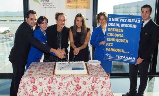 Ryanair estrena cinco nuevas rutas desde el aeropuerto de for Oficina ryanair madrid