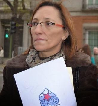 La diputada Rosana Pérez