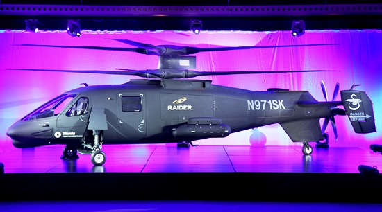 El último producto de Sikorsky es el S-97 Raider / Foto: Sikorsky
