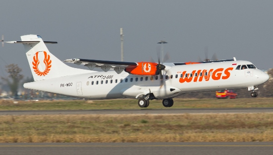 ATR de Wings Air, filial de Lion Group / ATR