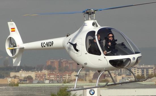 El Cabri G2, en el Aeropuerto de Sabadell / JFG