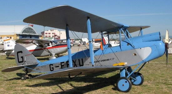De Havilland DH-60X Moth / Enrique Cortés