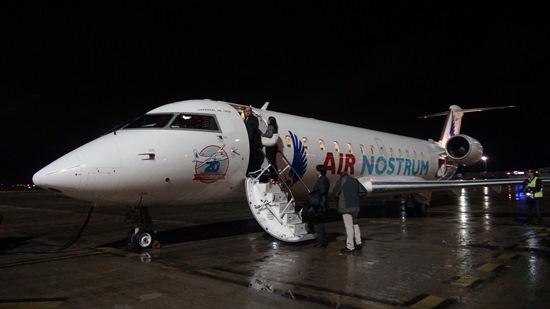 Se ha decorado un avión con la librea que lucíó la compañía en sus inicios