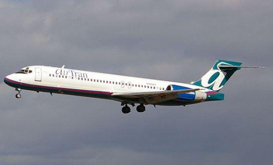 Boeing 717 de AirTran / Wikipedia