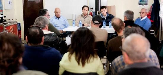 Imagen de la reunión celebrada por 'Nuevo RACE' en el Real Aeroclub de Guadalajara
