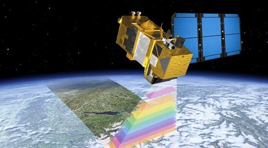 Imagen virtual del Sentinel-2