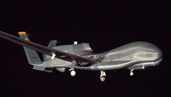 Llegada del Global Hawk a Avalon / Foto: Northrop Grumman