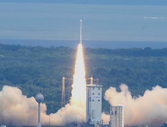 Imagen del lanzamiento / Foto: ESA