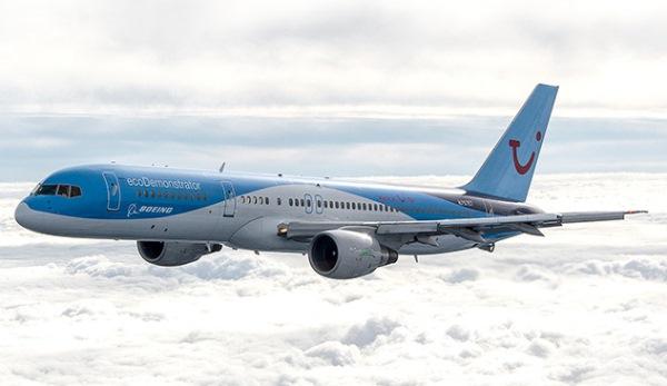 El 757 ecoDemosrator lo ha adquirido Boeing en leasing para vuelos de prueba y reciclado / Boeing