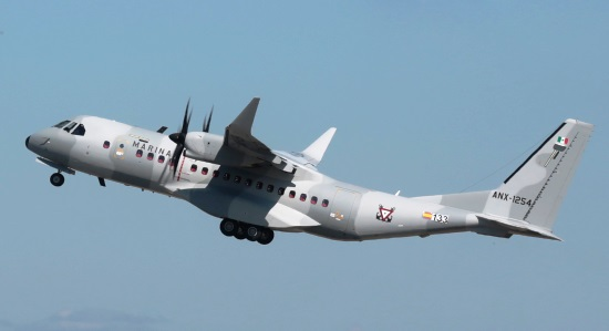 C295W de la Fuerza Aérea de México