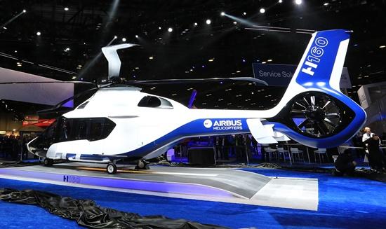 El H160, en Heli Expo 2015 / Airbus Helicopters