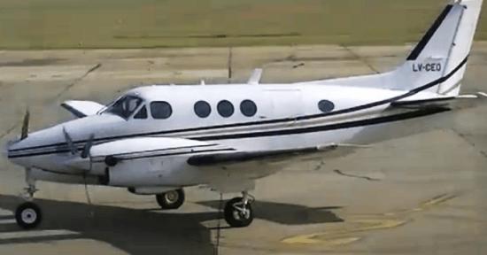Beechcraft C90 (LV-CEO)