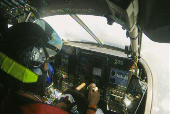 Cackpit del Solar Impulse 2 / Foto: @solarimpulse