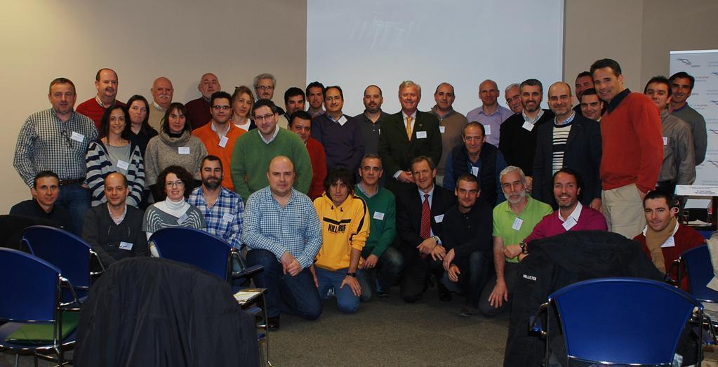 Foto de grupo delos asistentes a la jornada / COPAC