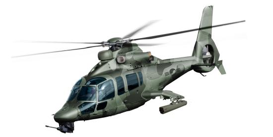 Imagen virtual de la versión militar del EC155 / Airbus Helicopters