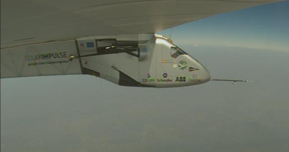 El Solar Impulse 2 en vuelo / Foto: @solarimpulse