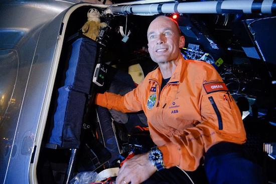 Bertrand Piccard, piloto de la segunda etapa del Solar Impulse