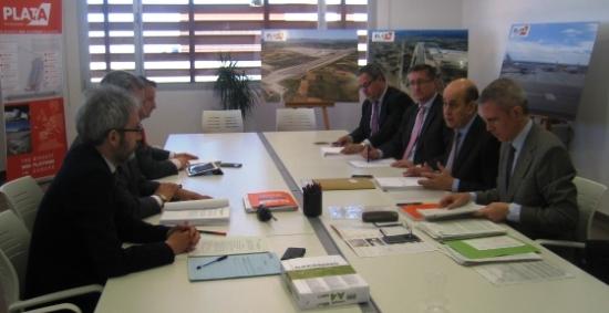 Reunión de los representantes del Consorcio que gestiona el Aeropuerto de Teruel / Gobierno de Aragón