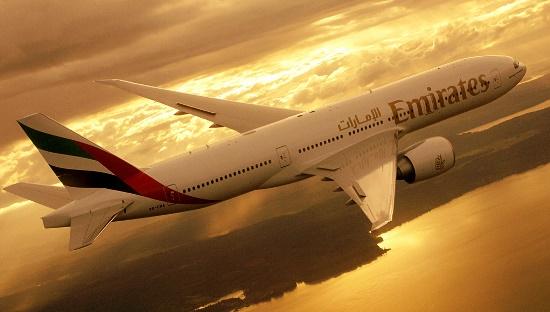 Boeing 777-200LR de Emirates / Foto: Emirates