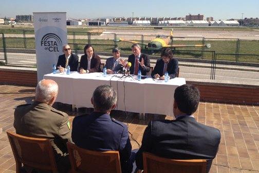 La presentación se realizó en el Aeropuerto de Sabadell