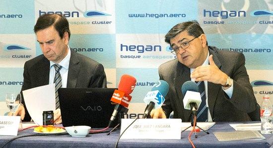 Iñaki López Gandásegui y José Juez Lángara /Foto: Hegan