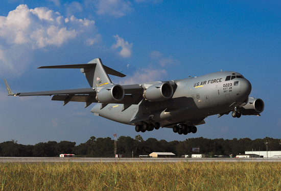 C-17 Globemaster / Foto: Ministerio de Defensa
