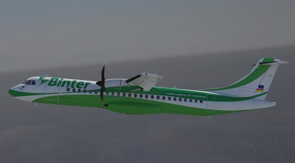 ATR 72-600 de Binter