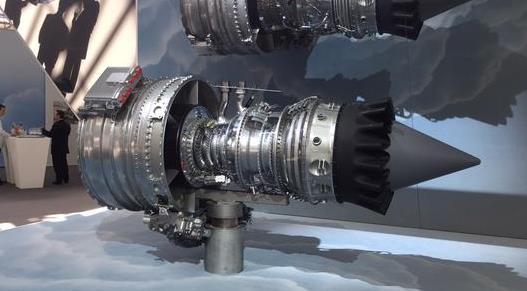 El motor Silvercrest / Foto: Dassault Aviation