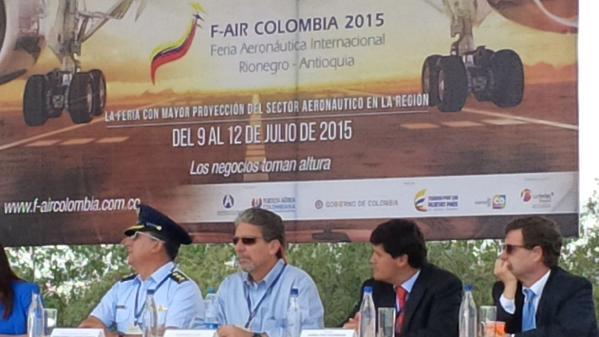 Inauguración de F-Air Colombia ayer / Foto: Embajada de los EEUU en Colombia
