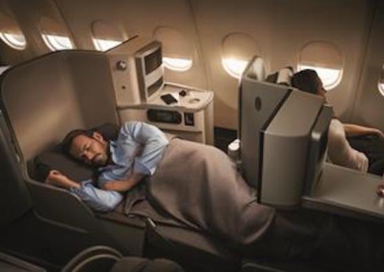 Asientos cama de clase Business / Iberia
