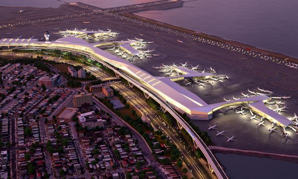 Imagen del proyecto del nuevo edificio terminal