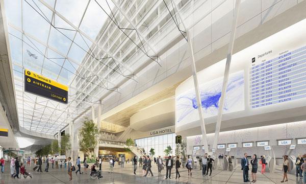 Vestíbulo del edificio terminal