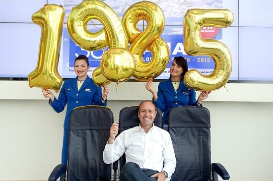 Kenny Jacobs, jefe de Márketing de Ryanair / Foto: Ryanair
