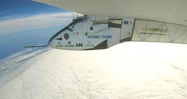 El Solar Impulse 2, en la travesía del Pacífico