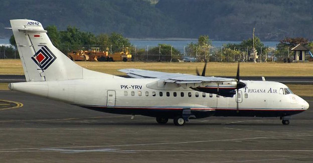 Avión ATR 42-300 de Trigana Air