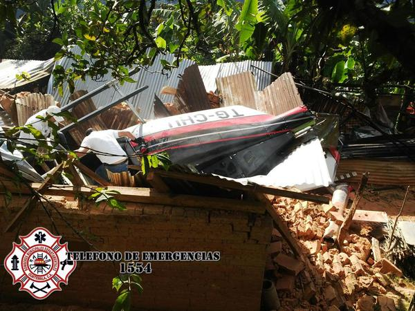 Foto: Twitter de los Bomberos Municipales Departamentales / @CBMDEPTAL