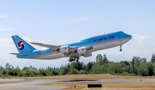 Boeing 747-8I de Korean Air / Boeing