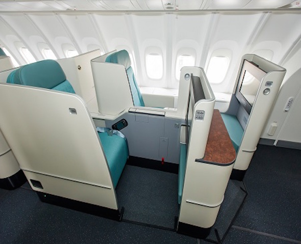 Asientos de Business Class Prestige