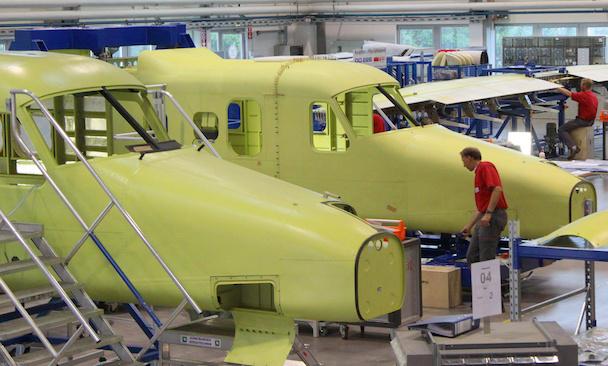 Fabricación del Dornier 228NG