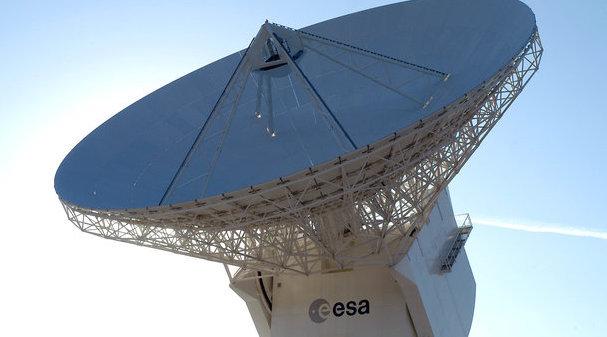 Estación de Cebreros / ESA
