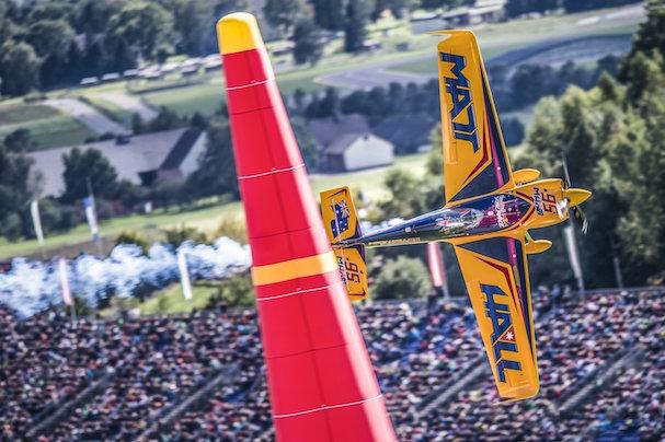 Matt Hall, vencedor en Spielberg / Foto: Andreas Schaad - Red Bull