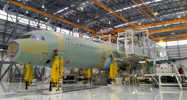 El primer que se saldrá de la fábrica será un A321 para Jet Blue / Airbus