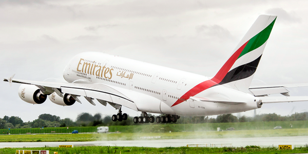 El nuevo A380 de Emirates