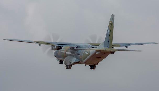 La Fuerza Aérea Checa participó en el ejercicio con un C-295