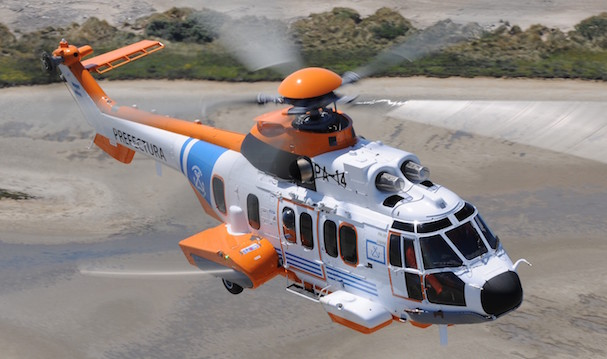 El H225 Puma de la Prefectura argentina
