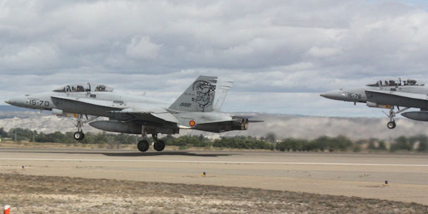 Inicio del vuelo / Ministerio de Defensa