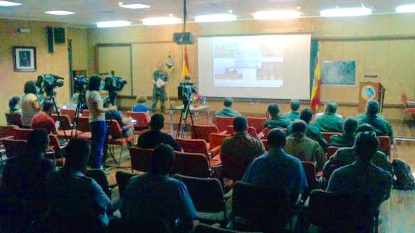 Presentación del TRJE15 en la Base Aérea de Albacete / Ejército del Aire