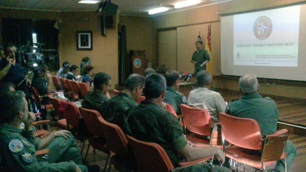 Presentación del TRJE15 den la Base Aérea de Albacete / Ejército del Aire