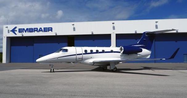La pasada semana entregó la unidad 300 del Phenom 300 / Foto: Embraer