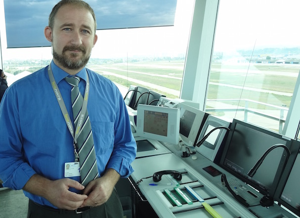 Álvaro Moles, director de la torre de control del Aeropuerto de Sabadell / JFG